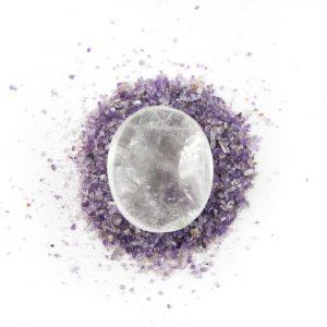 Piedra de Bolsillo de Cristal de Roca
