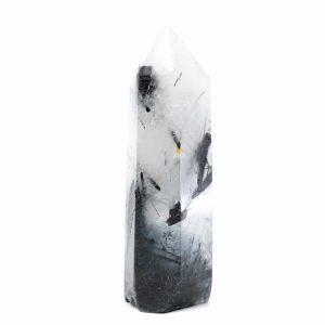 Gema Punta de Obelisco Cuarzo Turmalina 60 - 85 mm